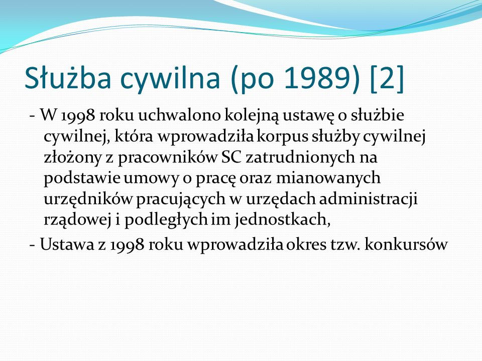 Służba cywilna (po 1989) [2]